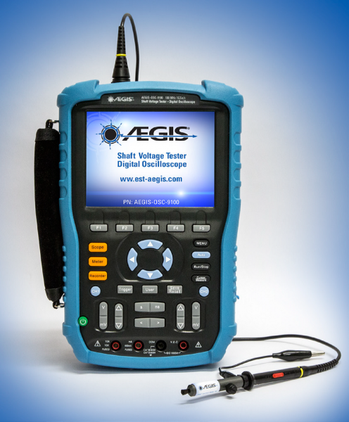 Shaft Voltage Tester AEGIS-OSC-9100-W2-I