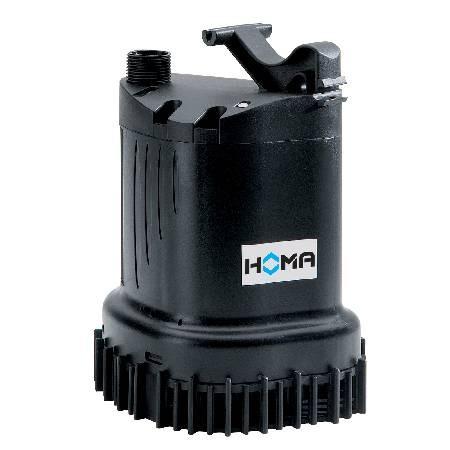 Homa Klar- und Schmutzwasser-Tauchmotorpumpe C135 W