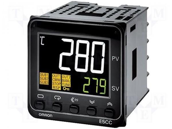 Temperaturregler E5CC-QX3A5M-000