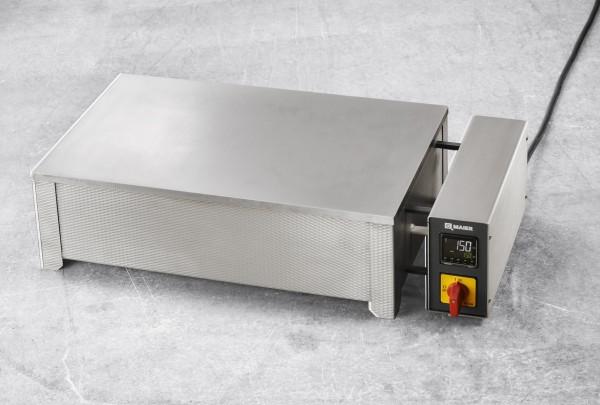 Heiztisch HTP420 mit Stahlheizplatte